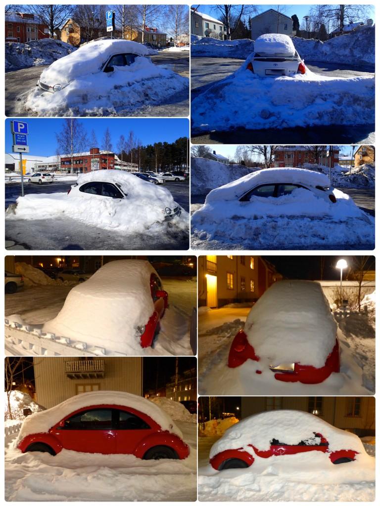 Bilar i snö 2 c