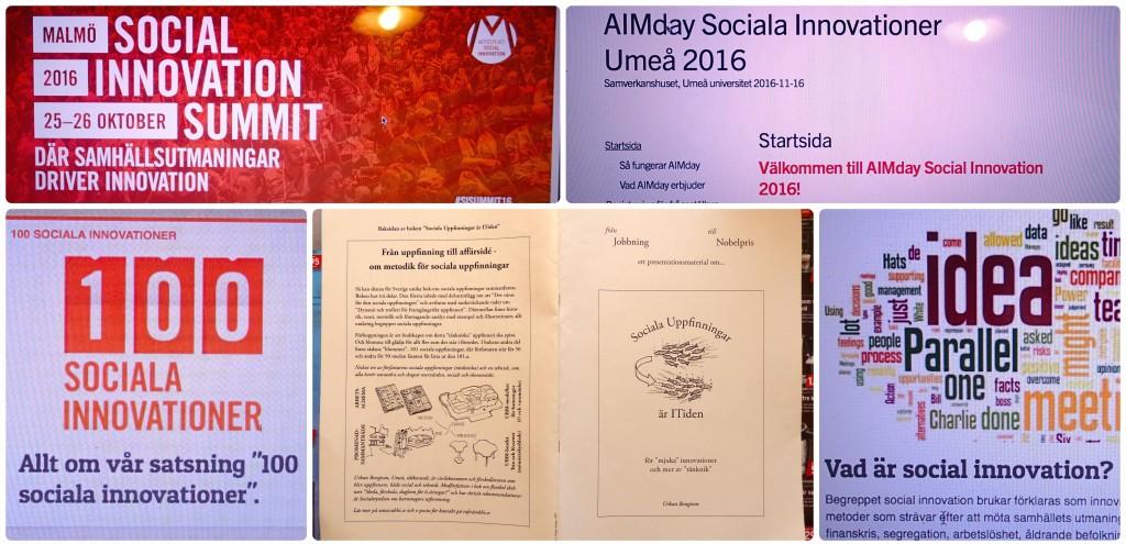Sociala innovationer collage c