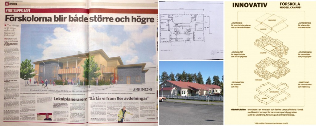 Förskola 2 plan innovativ Umeås