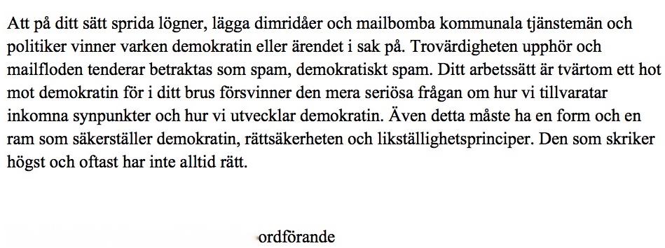 Ögren Åsa svar UB a ret