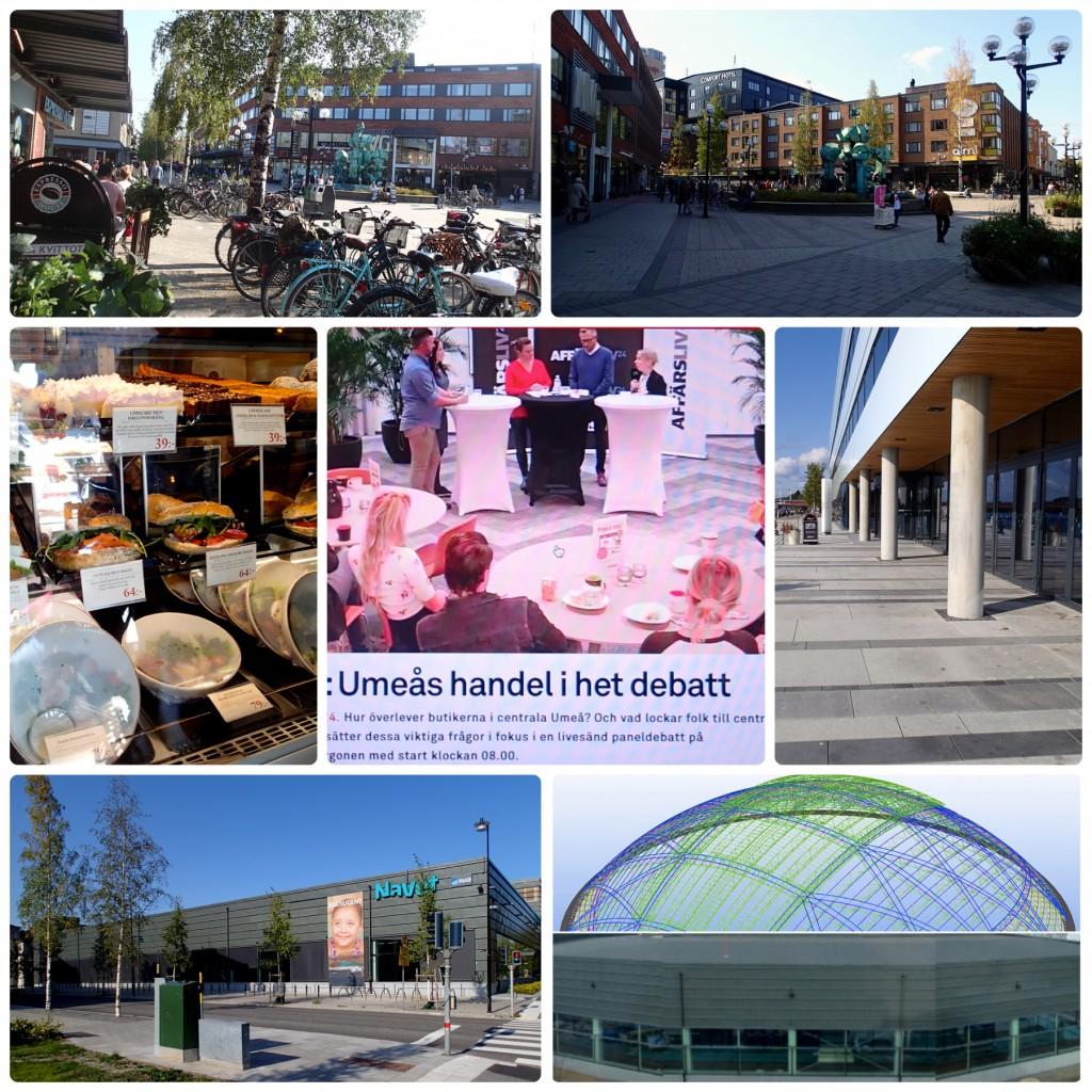 Umeå centrum idéer