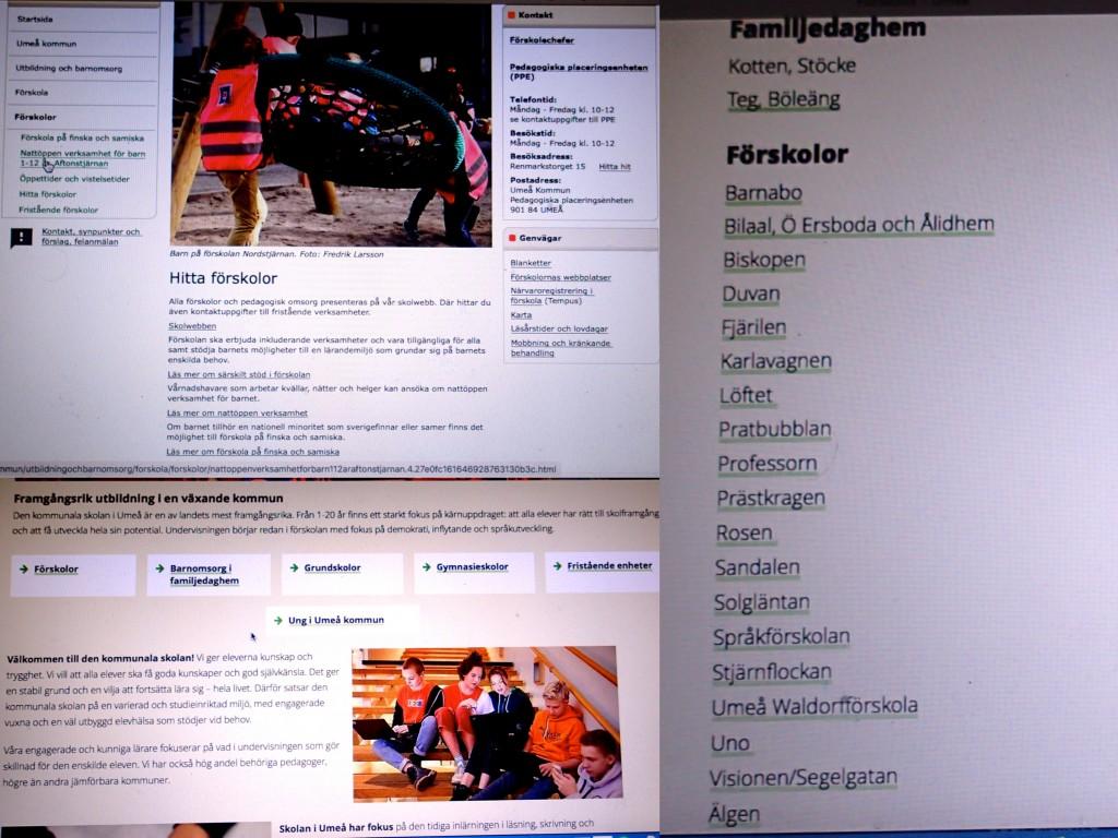 Förskoleregler Umeå frist.