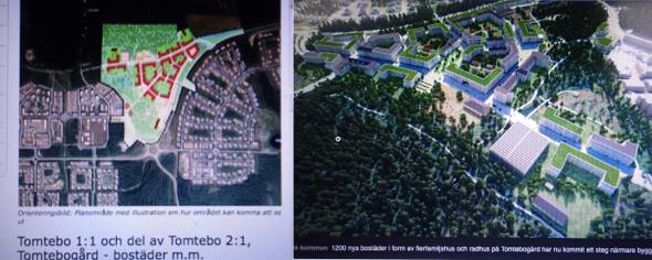 Tomtebogård detaljplan