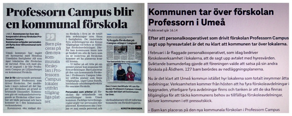 Professorn Campus övertar