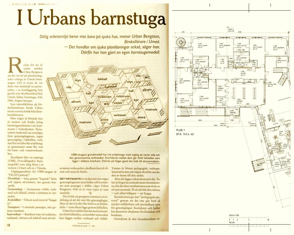 UBBI Förskolan Rosendal gul