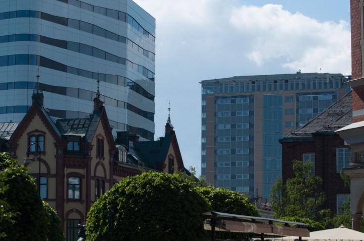 Väven, Stora hotellet och Plaza