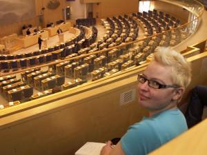 Riksdagen, mars 2012