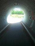 där såg jag ljuset i tunneln