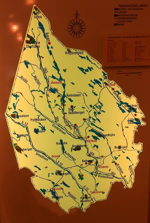 Vindelns karta