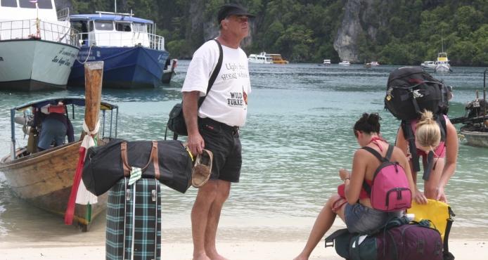 Båtluffa i Thailand. Roligt, billigt och med stor frihet.
