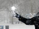 Snöfallet inte bra för alla