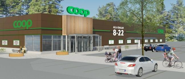 Nya Coop-butiken  blir näst störst i stan