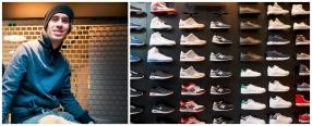 Från streetwear till  chef på ny sportbutik