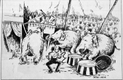 Elefantupploppet i Storuman