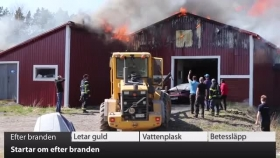 VK100: Strartar om efter branden