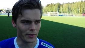 Jens Sjöström efter segern