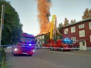 Stor husbrand i Lycksele
