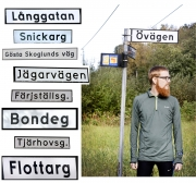 Han springer Umeås alla gator