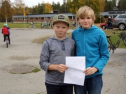 Eleverna skrev till FN