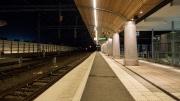 Tågstationen måste bevakas dygnet runt