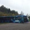 Buss fick bekymmer