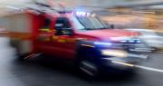 Misstänkt brand vid lokstallarna