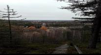 Utsikt från Tannberget, Lycksele, en oktoberdag 2016