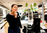 Butik lägger ned i Umeågalleria