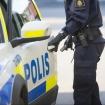 Våldsam man greps i Umeå