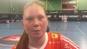 Hultgren efter matchen mot Rönnby