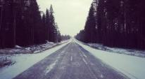 Det behöver inte vara mycket snö för att det vara vackert 8)