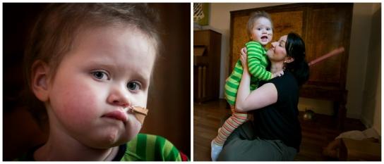 Treåriga Hillevi kämpar mot leukemin
