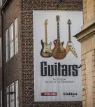 Guitars tappar museibesökare