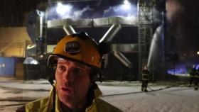 Stor brand i Holmsund