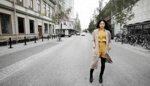 Från gatan - till författare