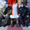 Körde snöskoter till Rovaniemi