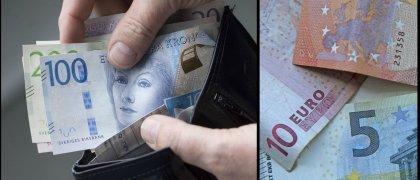 Falska sedlar i omlopp