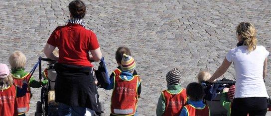 Larmar om för stora barngrupper