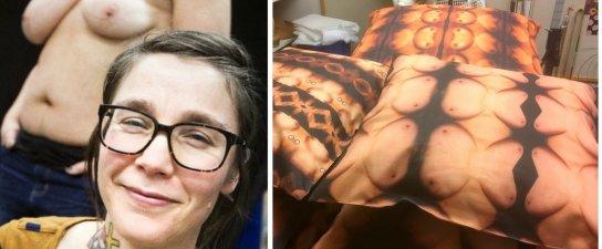 Hon fotograferar Umeåkvinnors bröst