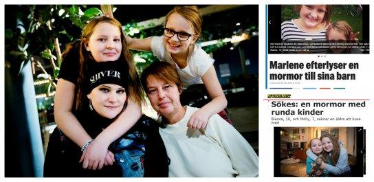 Umeåsystrarna har adopterat en mormor
