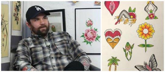 Tatuerar för att stötta Umeås kvinnor