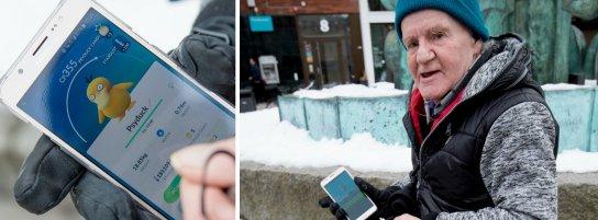Roland - Umeås äldsta Pokémon Go-nörd