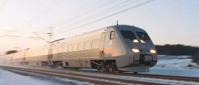 Fler resenärer byter flyg mot tåg