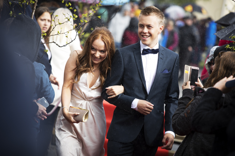 Många par vid årets bal i Vilhelmina