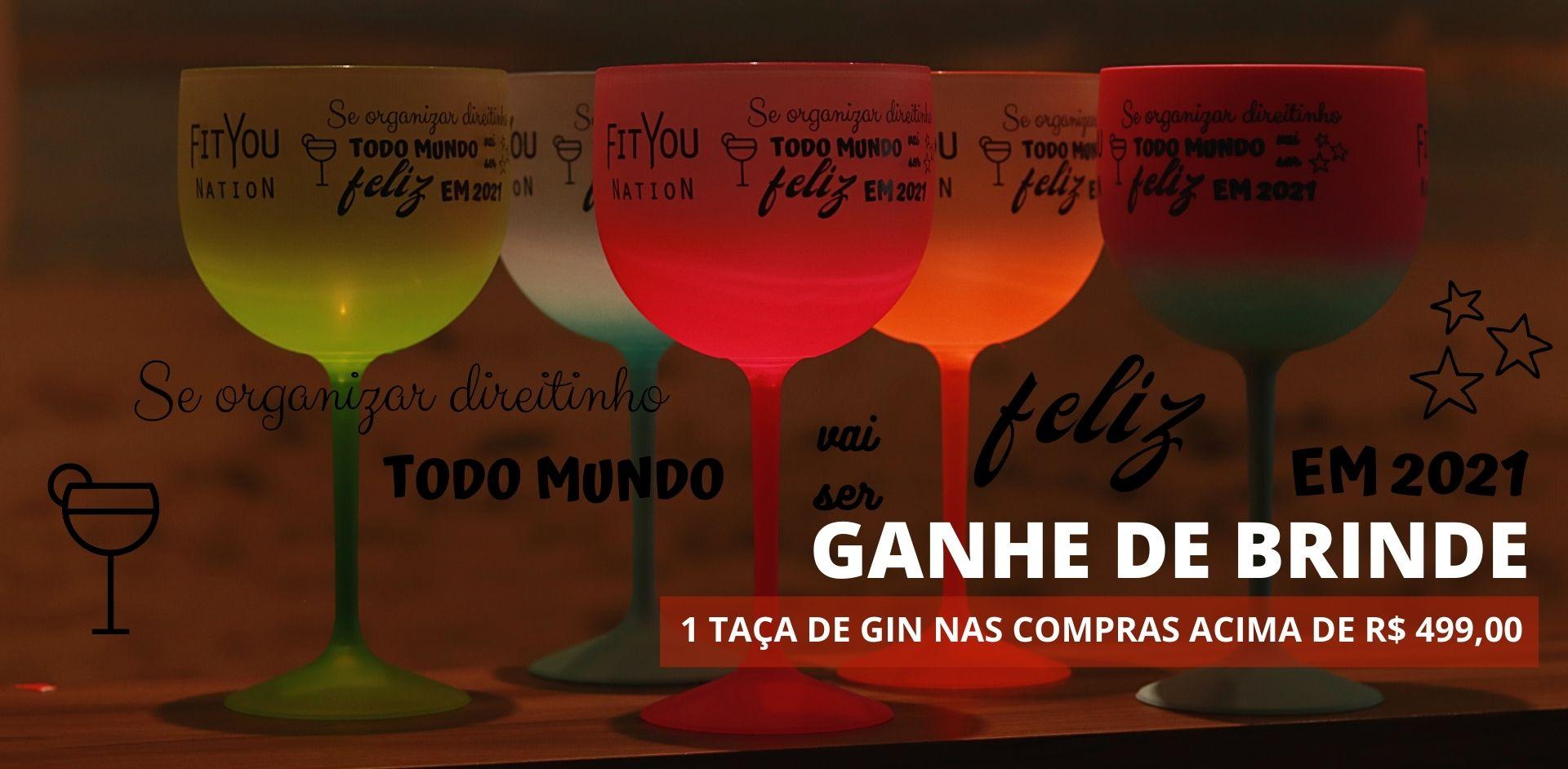 Taça de Gin Brinde