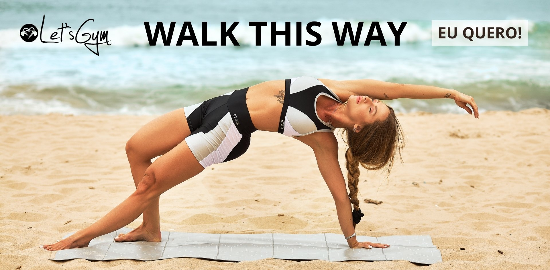 Lets Gym Walk Tis Way