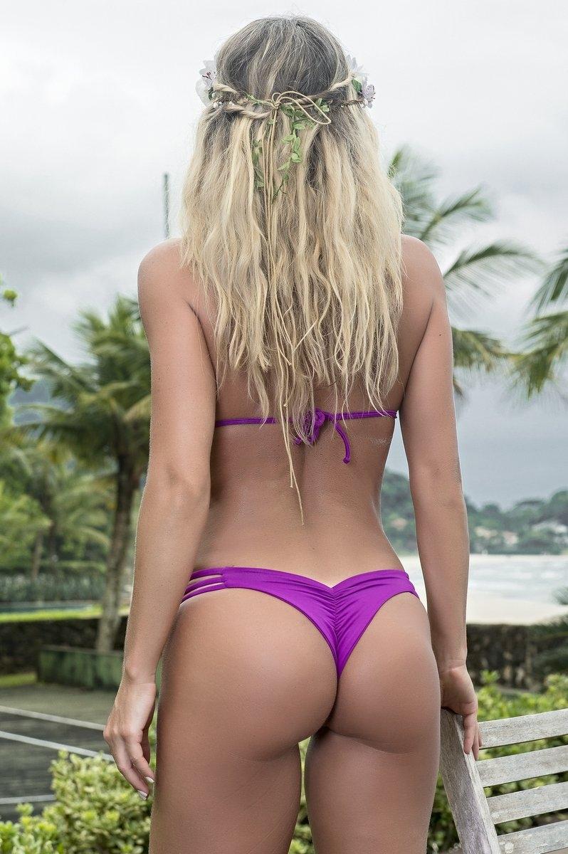 Santa Areia Biquini Strips Violet 409RX