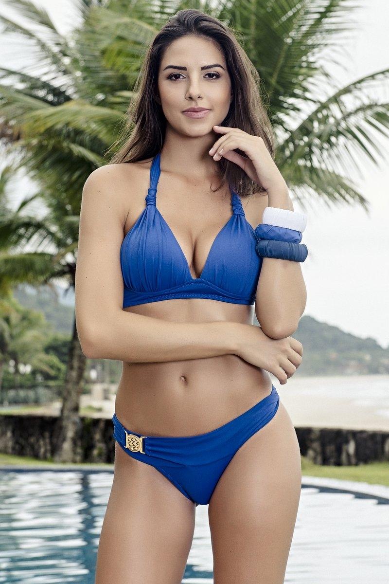 Santa Areia Biquini Comfort Blue 412AZ