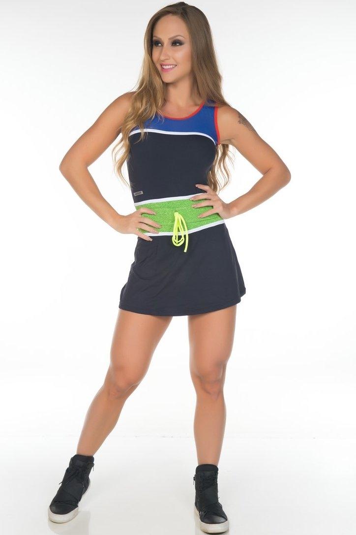 dress-cris-black-and-green-garota-fit-vez02e Garota Fit Fashion Fitness e Praia Garota Fit Fashion Fitness e Praia