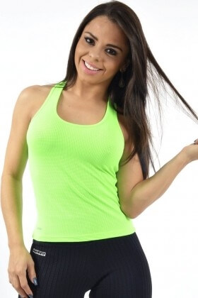 tank-shirt-swimmer-green-garota-fit-bln02g Garota Fit Fashion Fitness e Praia